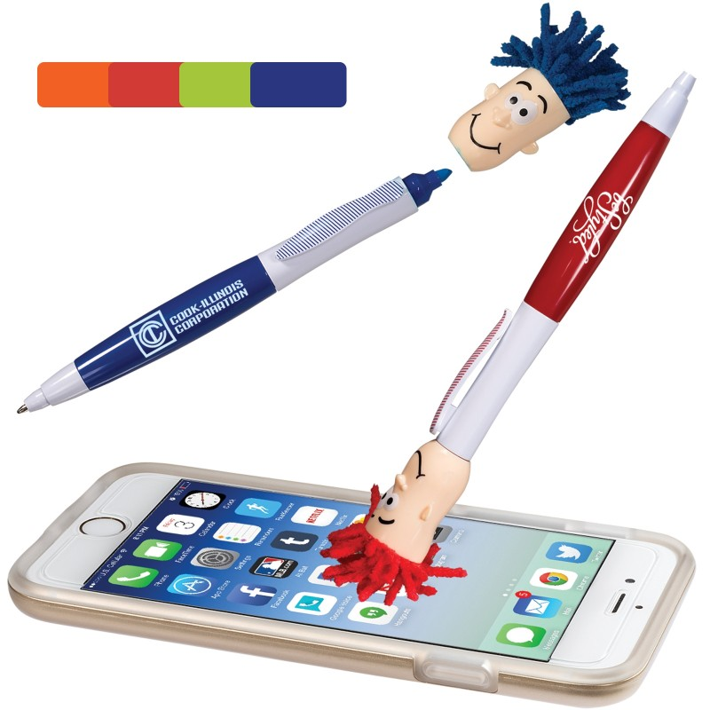 Mop Top Highlighter Pen - Indent
