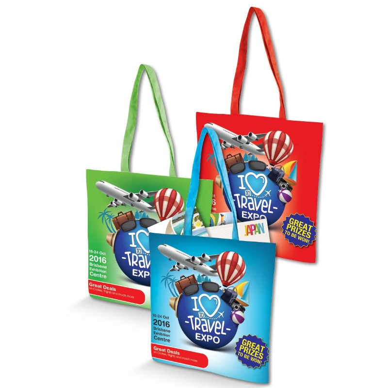 Cotton Tote Bag with Full Colour Design - 170GSM - Indent