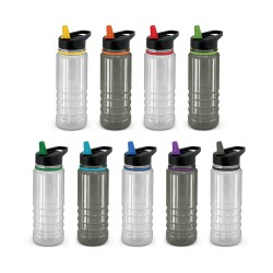 Triton Elite Drink Bottle - Clear and Black