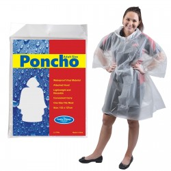 Reusable Poncho in Polybag