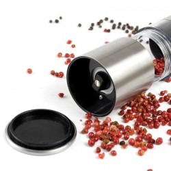 Napoli Stainless Steel Salt & Pepper Grinder