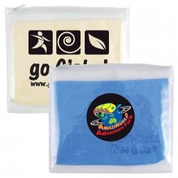 Supa Cham Chamois / Body Towel in PVC Zipper Pouch