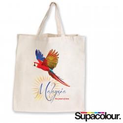 Supa Shopper Short Handle Calico Bag - 130 GSM