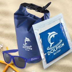 Sand & Beach Kit 2 - River Waterproof bag, Horizon Sunglasses, Chill Cooling Towel