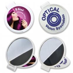 Reflections Round Folding Mirror