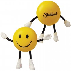 Smile Guy with Bendy Arms & Legs Anti Stress Reliever