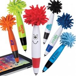 Mop Top Junior Ballpoint Pen / Stylus - Indent