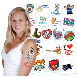 Classic Temporary Tattoos®- 38mm x 38mm