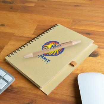 Savannah Notebook / Eco Matador Pen