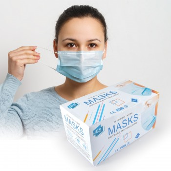 3 Ply Face Mask - Disposable
