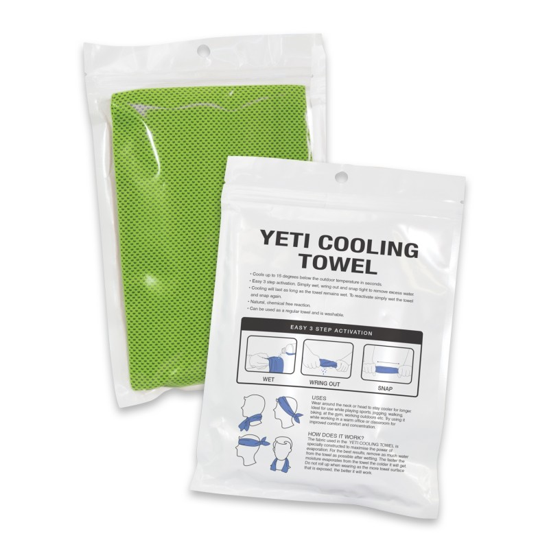Yeti Cooling Towel | Pipi Promotional Products