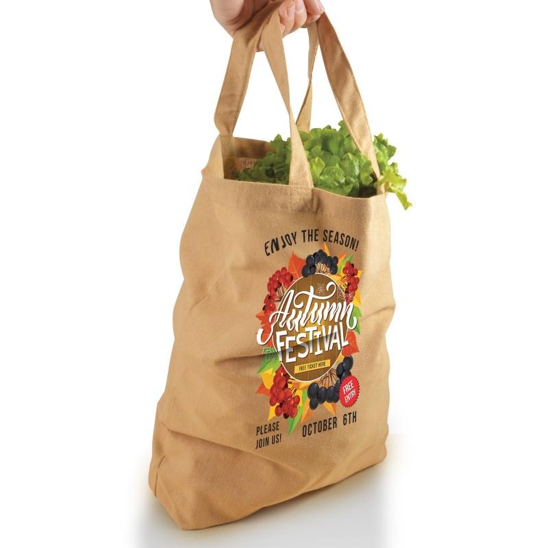 Enviro Supa Shopper Short Handle Bag - 170GSM
