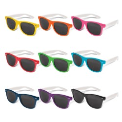Malibu Premium Sunglasses - White Arms