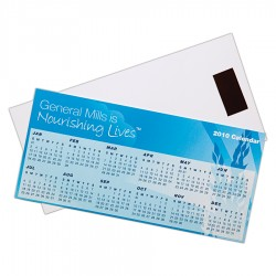 Magnetic Tab Calendar 210mm w x 100mm