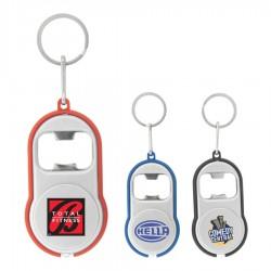 Turbo Keychain Flashlight and Bottle opener