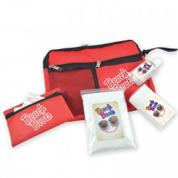 Survival Kit - Malibu Pouch, First Aid Kit, Hand Sanitiser, Tissues and Poncho