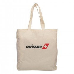 Calico Shopping Bag w/gusset